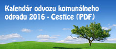 Kalendár odvozu komunálneho odpadu 2016