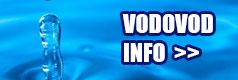 Vodovod Cestice - informacie