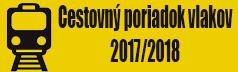 Cestovný poriadok vlakov 2017/2018