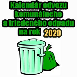 Odvoz odpadu Cestice 2020