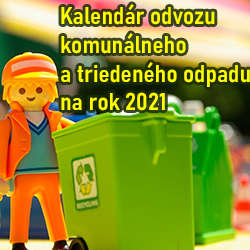 Odvoz odpadu Cestice 2021